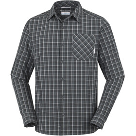 Columbia Triple Canyon Long Sleeve Shirt Men Shark/Graphite